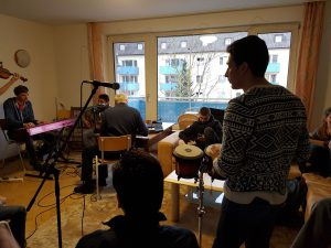 Jazz-Jamsession im Cafe Willkommen